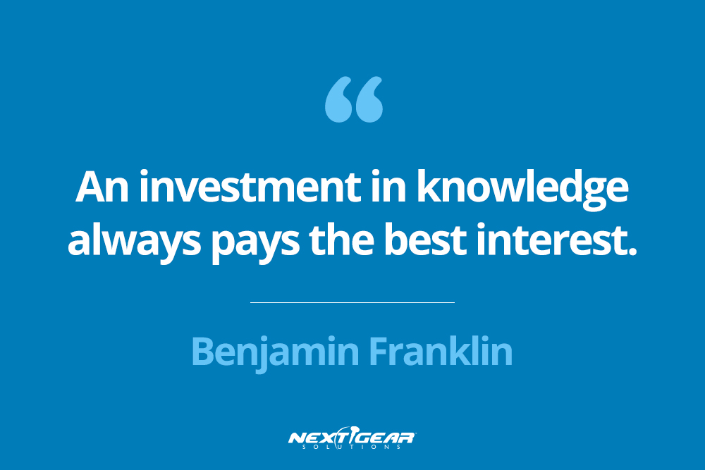 """An investment in knowledge always pays the best interest.""―Benjamin Franklin"