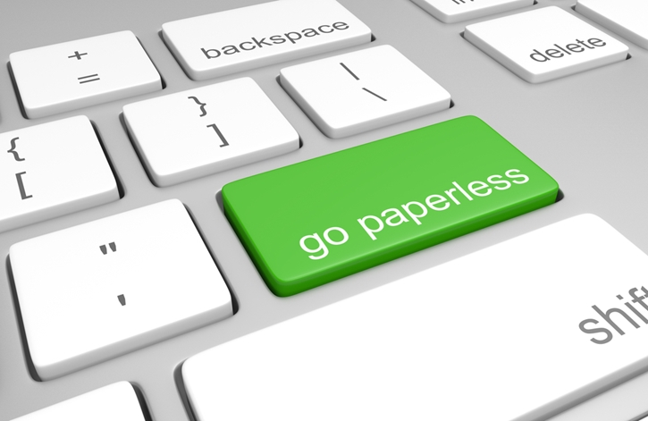 Going paperless can have tremendous benefits for a company.