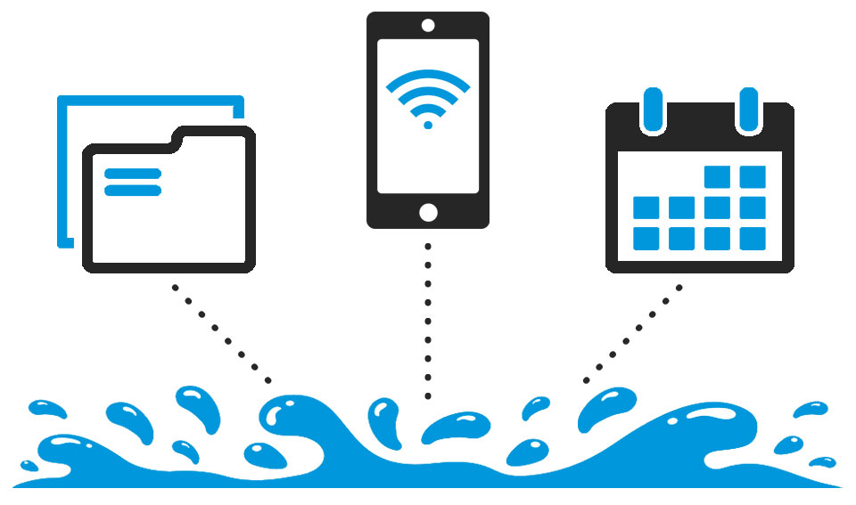 Water Restoration Software Icons