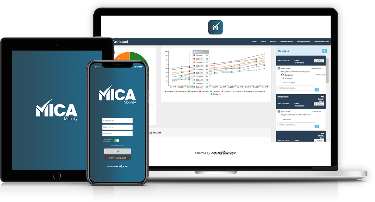 MICA - Mitigation Management Software - Next Gear Solutions