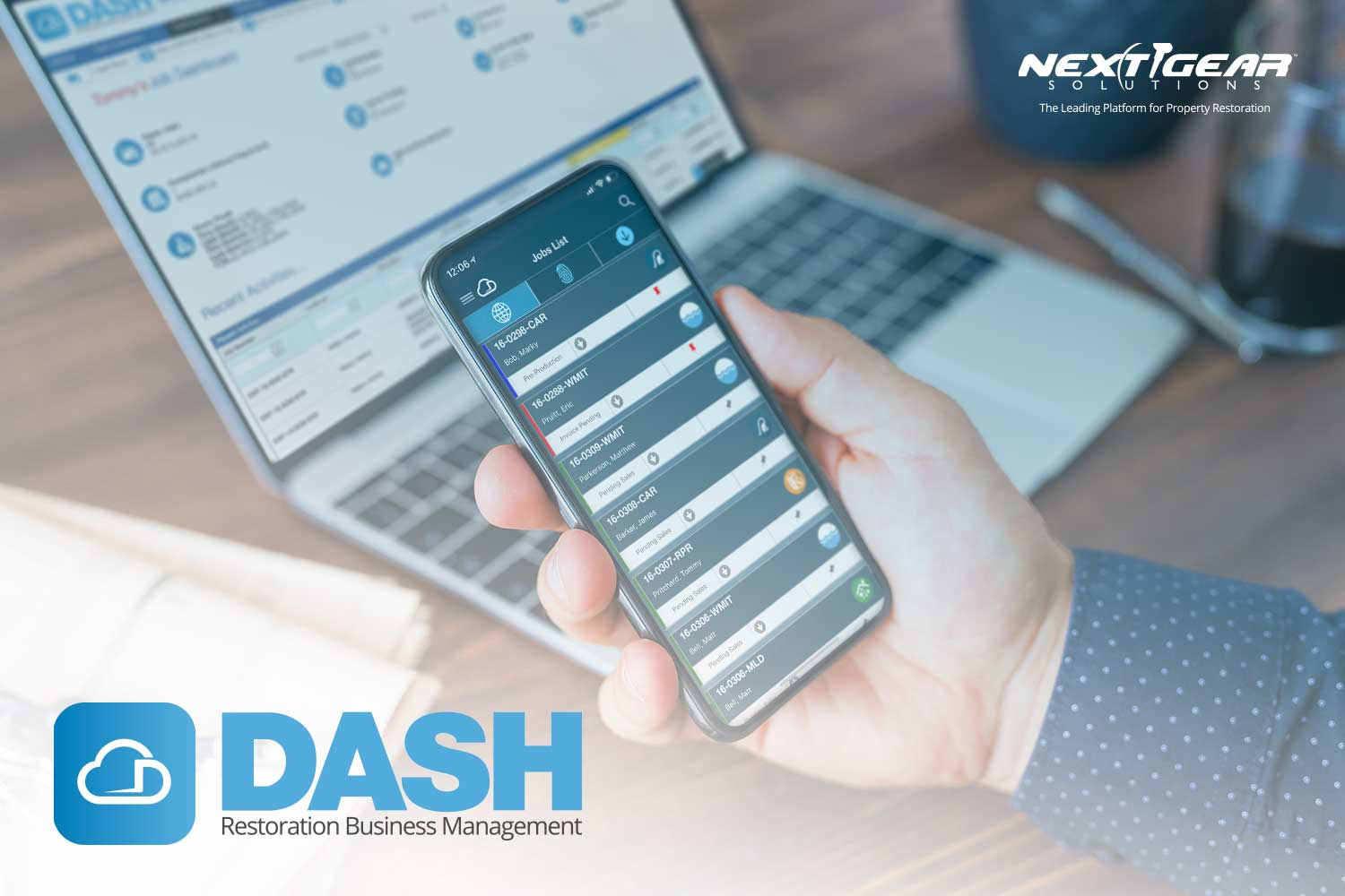 Intuitive Interface of DASH Restoration Job Management Software