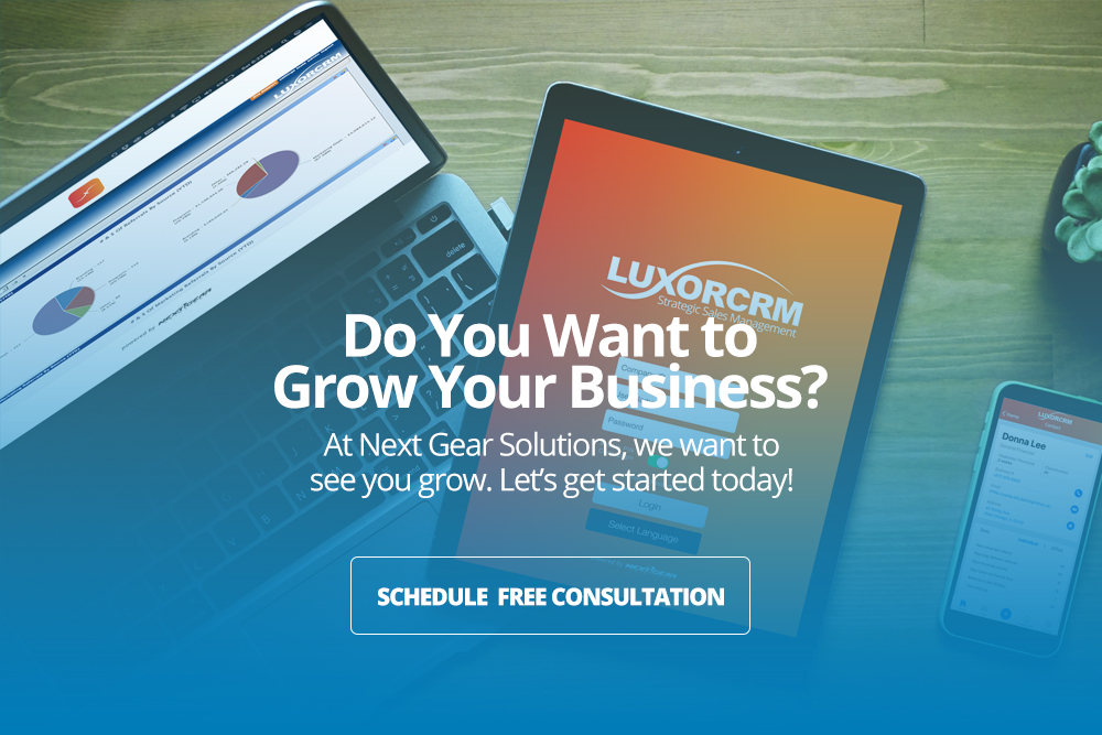 LuxorCRM from Next Gear - CRM Software for Restoration