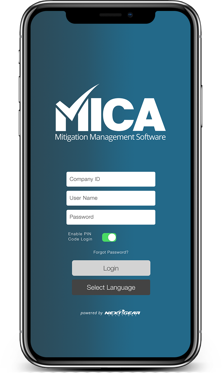 MICA Mitigation Management Software