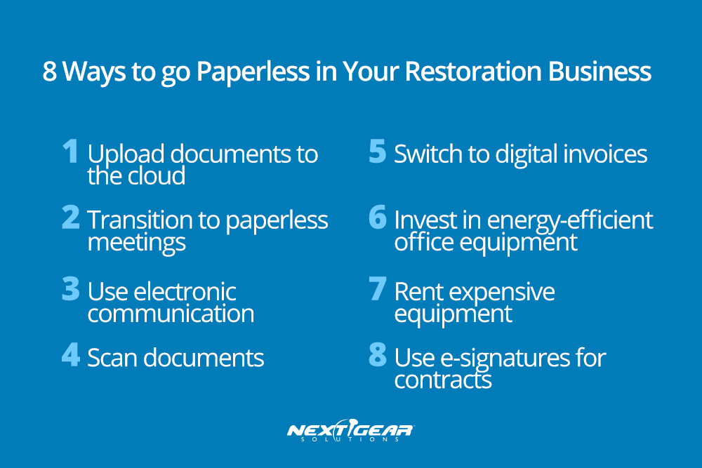8 Ways to Go Paperless