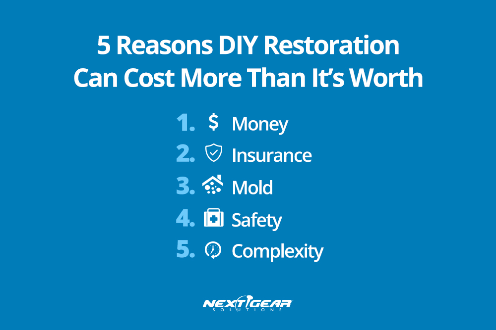 5 Reasons DIY Restoration