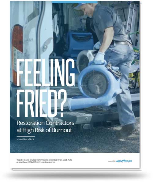 Restoration Contractors at High Risk of Burnout