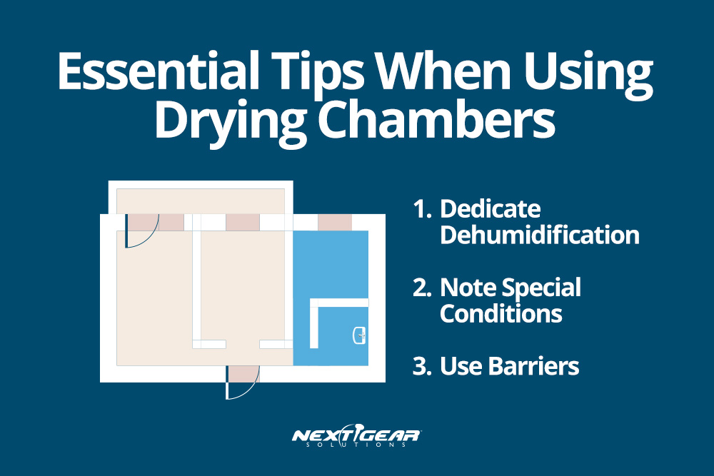 Essential tios when using drying chambers
