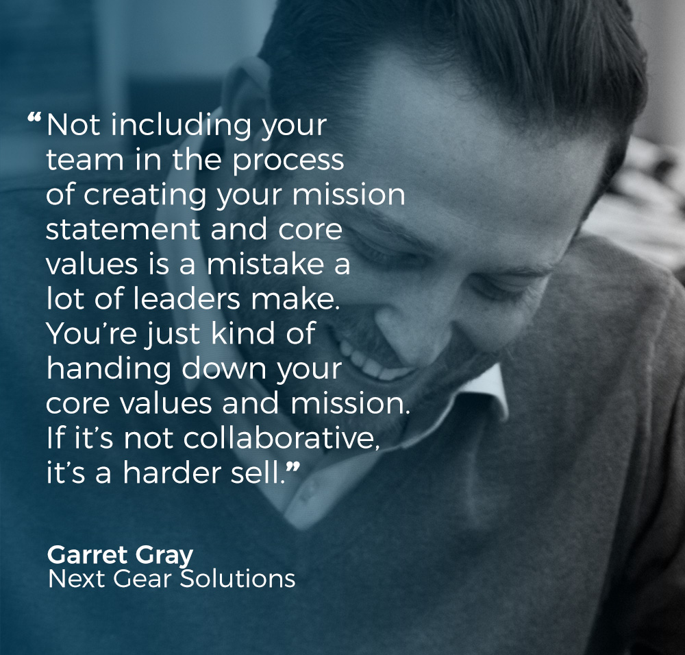 creating mission statement