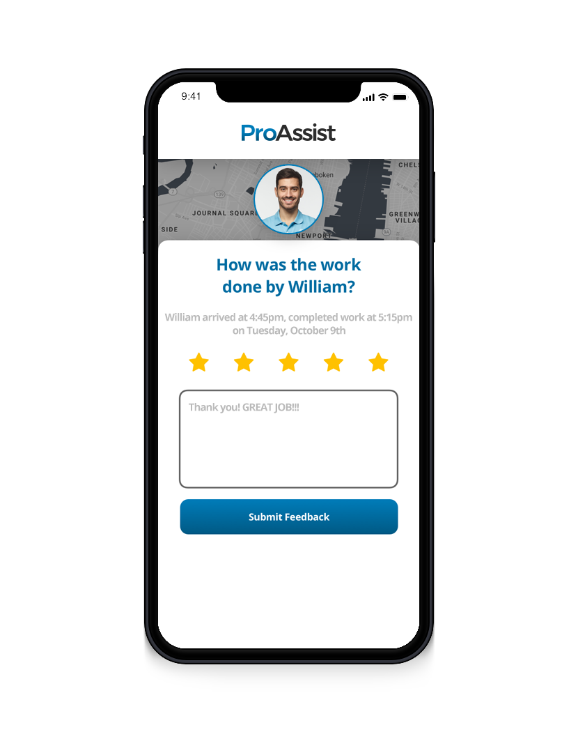 5-star Survey - ProAssist by Next Gear Solutions