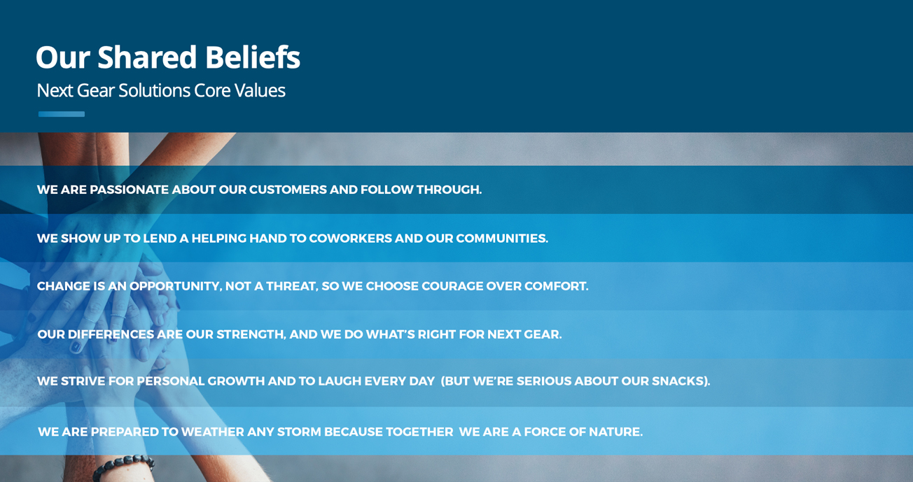 next-gear-solutions-who-we-are-core-values