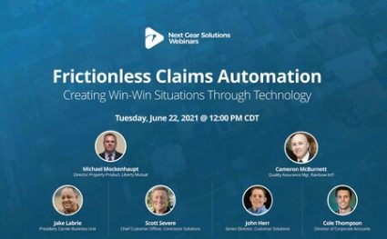 Webinar-Frictionless Claims Automation