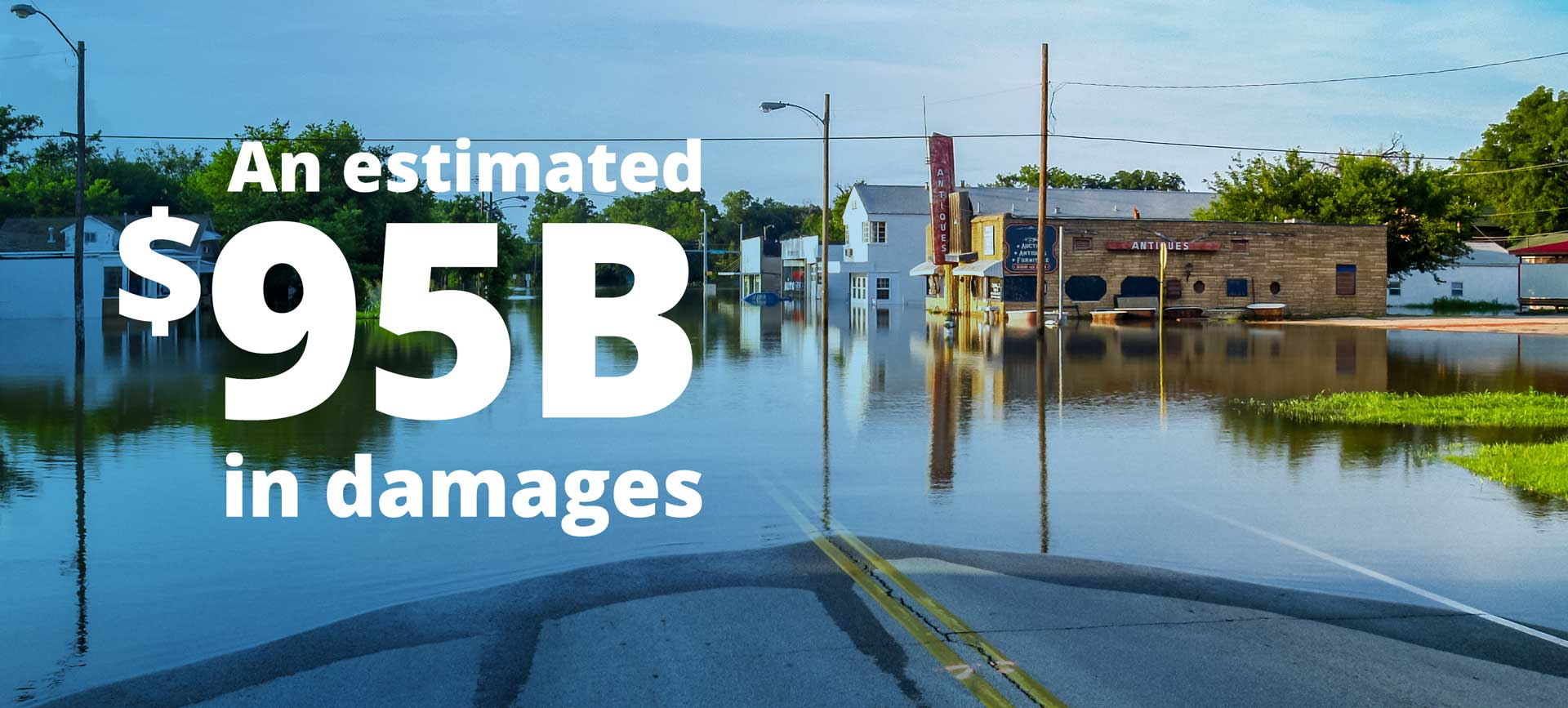An estimated $95B in damages